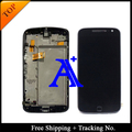 Tracking No. 100% test For Motorola G4 plus LCD Moto G4 Plus LCD Screen Display Touch Screen Digitizer assemly with Frame
