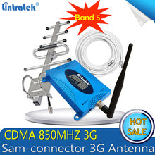 Lintratek GSM LTE 850Mhz CDMA 3G 4G repetidor de celular UMTS 850mhz amplificador sinal 3g signal booster Antenna