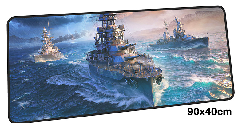 warship mouse pad gamer 900x400mm notbook mouse mat gel large gaming mousepad cool new pad mouse PC desk padmouse accessories