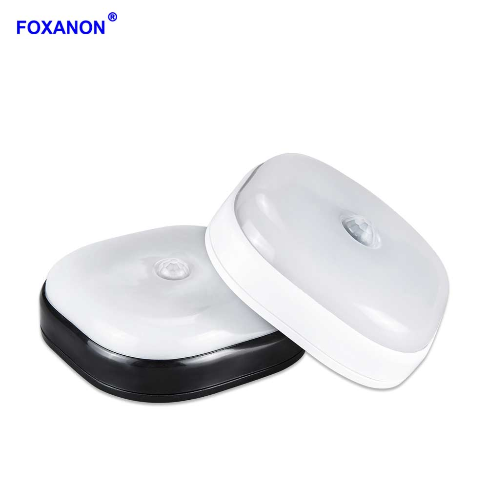 Furniture Light Bulbs Beautiful Photo Led Light Bulbs For: Foxanon LED Puck Lighting Bulbs PIR Motion Sensor Lamp LED