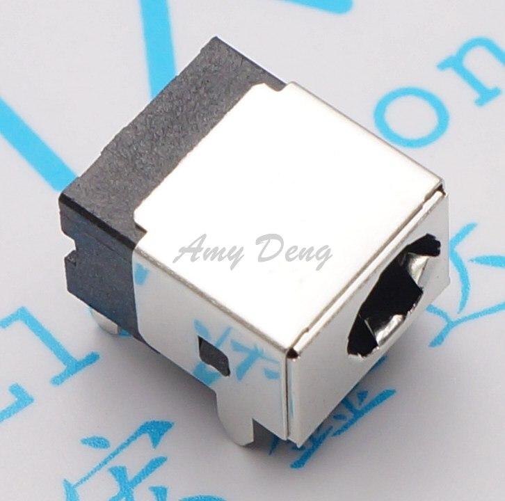 100pcs/lot  DC044A DC-044A 2.1 Core Power Socket Aperture 6 Pin 5P