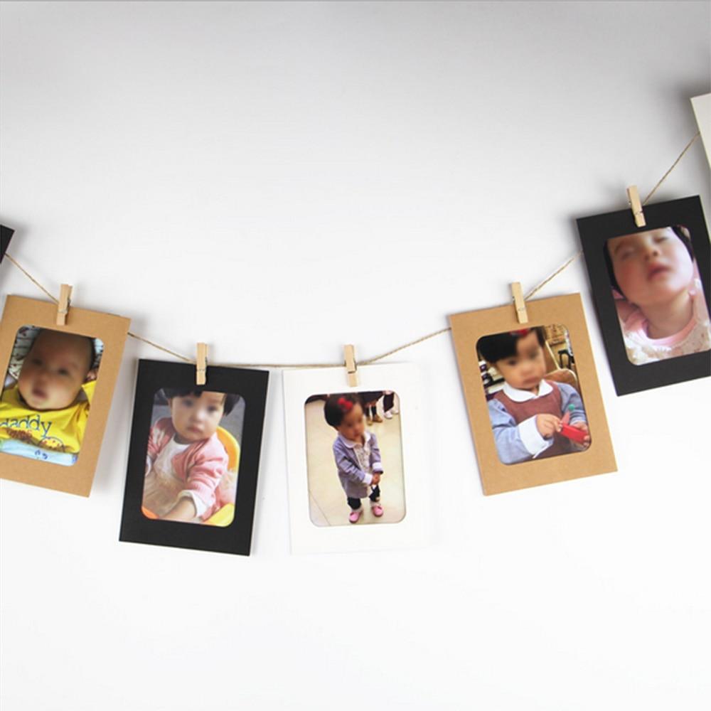 10 stücke Hochzeit Dekoration Kombination Wand Bilderrahmen DIY ...