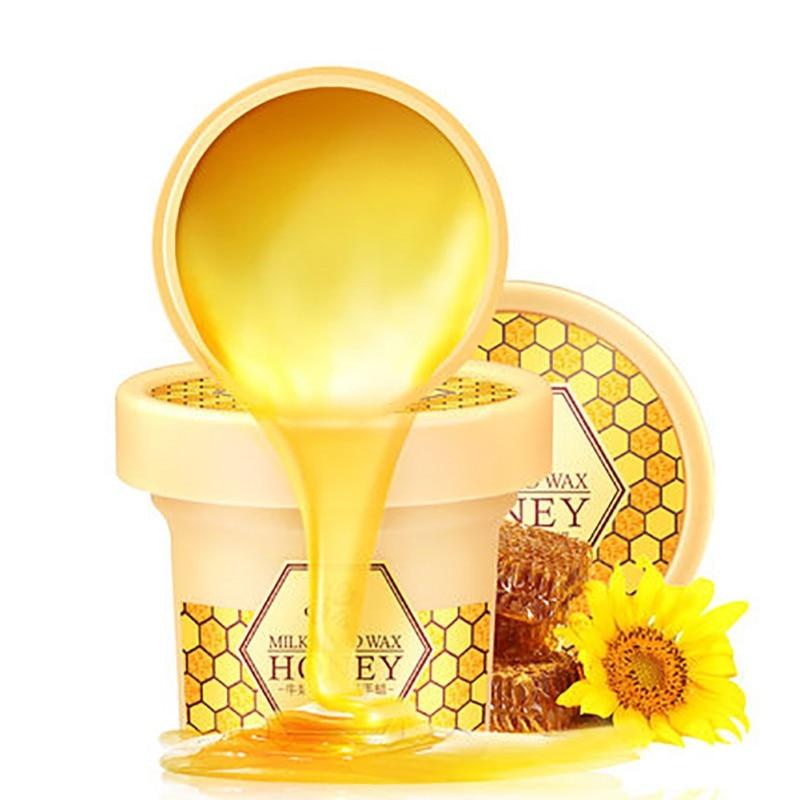 Milk Honey Hand Mask Hand Cream Moisturizing Whitening Skin Care Exfoliating Calluses Hand Film Hand Cream