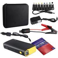 Multi function Mini 18000mAh Batteries Charger 3 Mode Car Jump Starter Booster Power Bank LED Emergency Kit