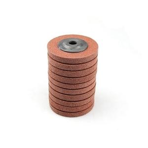 Image 2 - 10 adet 100*12*16 A/O olmayan dokuma birim parlatma tekerlek naylon taşlama diski açı öğütücü araçları yumuşak Metal kaplama