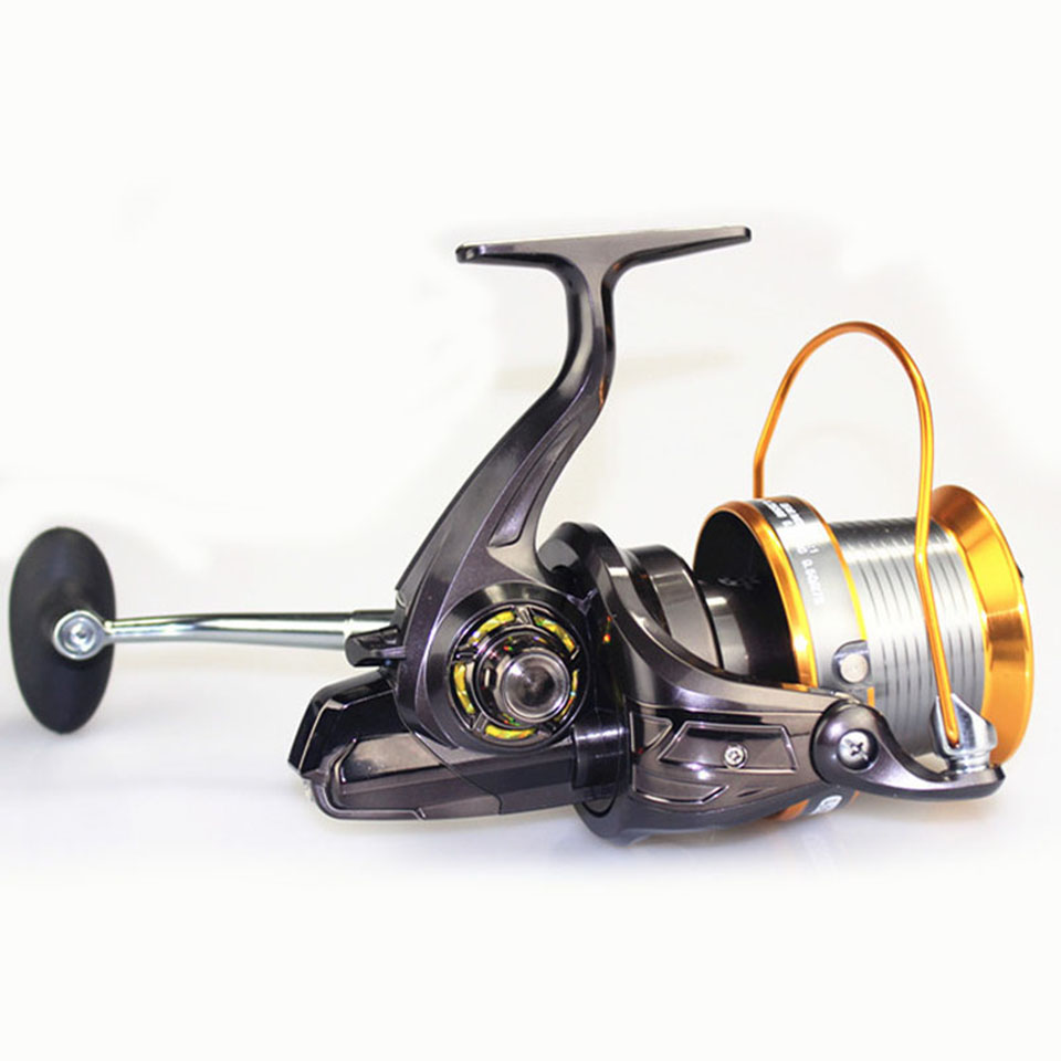 Super 13BB LJ9000 Reel 4.1:1 Quality Big Game Sea Fishing Reel Metal Saltwater Fish Wheel image