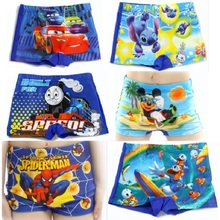 Hot Sale Boy's Beach swimming trunks children's swimsuits Lowest price Baby Boys Swimwear Cartoon Kids Swim Trunks