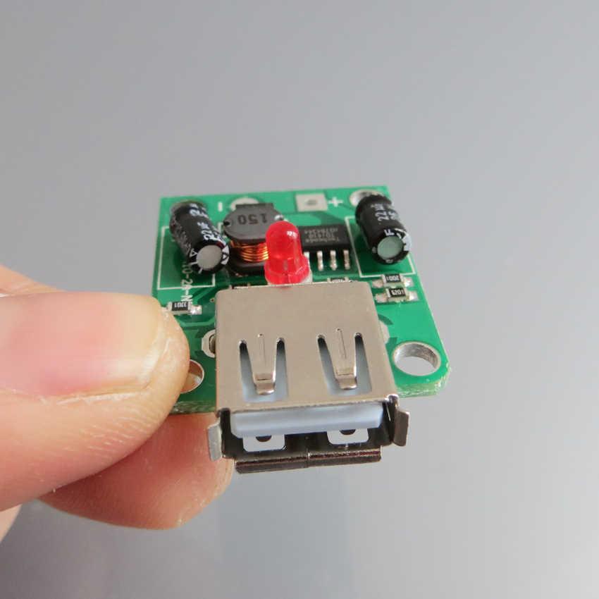 ホット販売 5v 2A ソーラーパネル電源銀行の Usb 充電電圧コントローラレギュレータ 6 V-20 V 入力 5Vdc 出力 led インジケータ