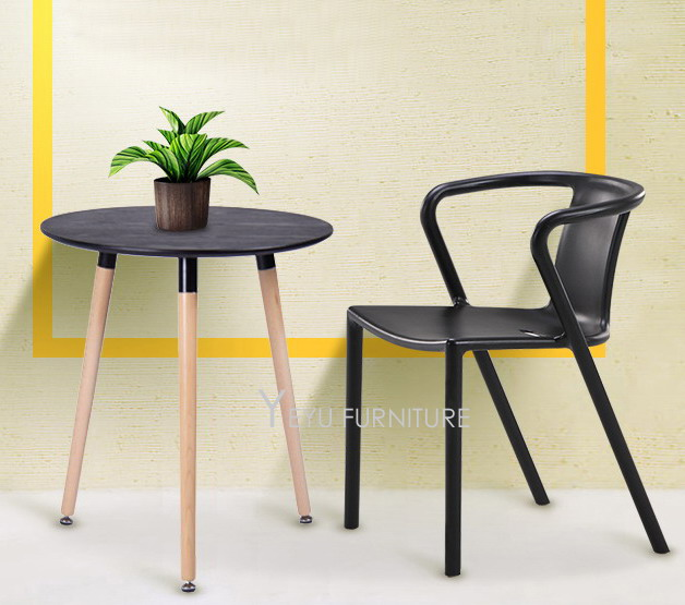 Minimalist Modern Design Plastic Dining Chair Modern Home