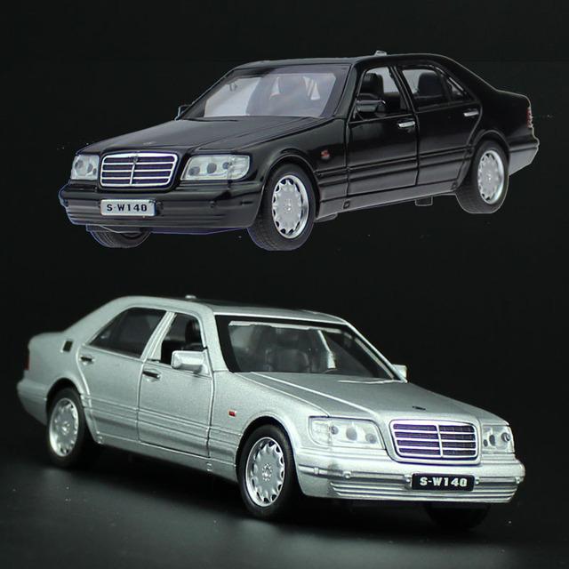 Alta simulación, modelo de juguete Clásico S-W140 coches De Metal, Tigers Ben clásico coche antiguo, 1:32 aleación tire hacia atrás juguetes de peluche, regalo modelos, Venta