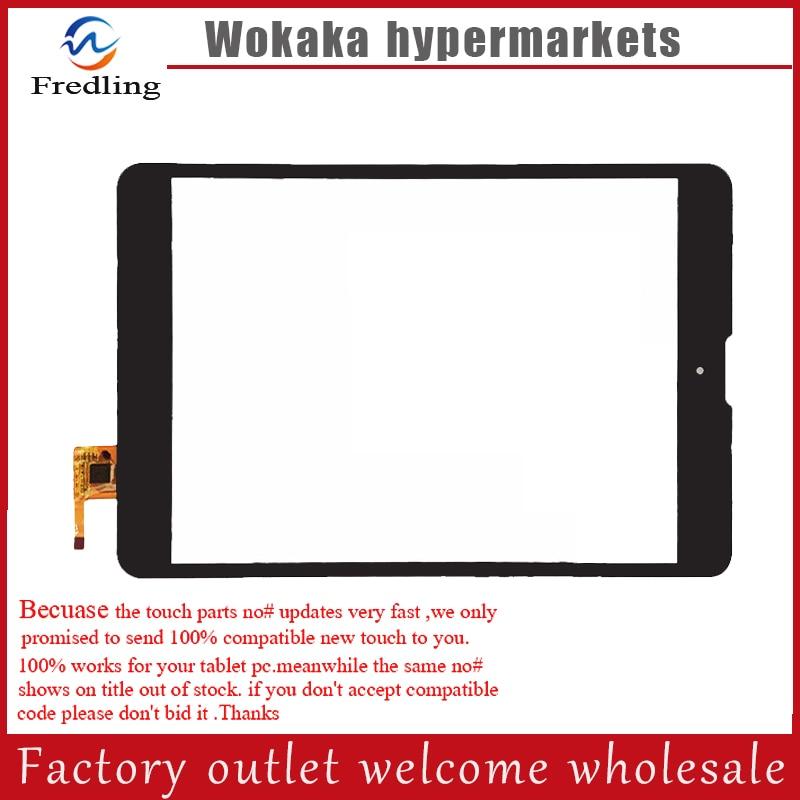 Black or white New 7.85inch tablet pc touch screen DPT 300-L4541J-C00 for Texet tm-7858 3G Tm-7868 3G digitizer touch texet navipad tm 7858 3g 16gb titanium