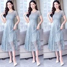 YICIYA Short Green Dresses Woman Party Night bodycon Lace Dress Womans Plus Size 2019 Xxl Xxxl Midi Elegant Summer Pink Clothing