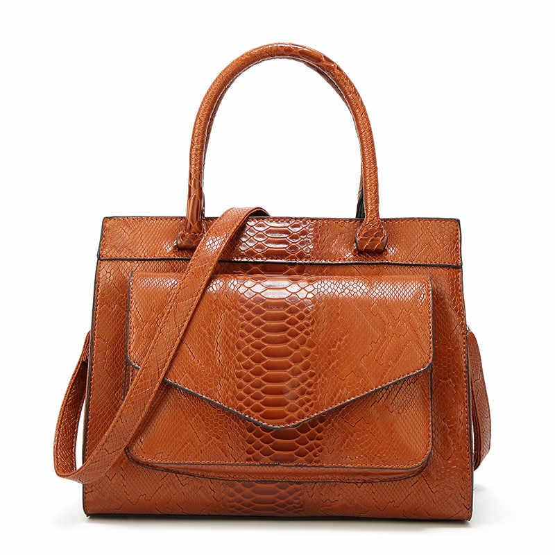 Женская сумка из крокодиловой кожи с текстурой, сумочка высокого качества из искусственной кожи, летняя сумка, королева шоппинга, сумки для женщин, новинка 2019