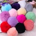 15 цветов 1 пара Розничная ручной съемный меховой обуви клипы для женщин обуви украшения клип N570