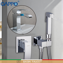 GAPPO Basin faucets bathroom faucet waterfall sink faucet basin tap mixer bathroom water faucet basin taps torneira fie bathroom faucet mixer tap torneira ceramic taps valve chrome water tap modern desk basin faucet