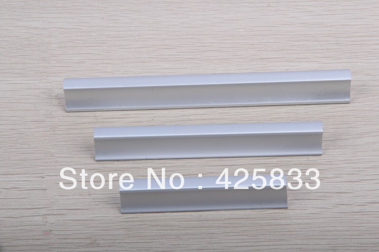 10pcs 128mm aluminium alloy cabinet knobs modern handles furniture bedside closet knobs hardware bookcase decorative discount