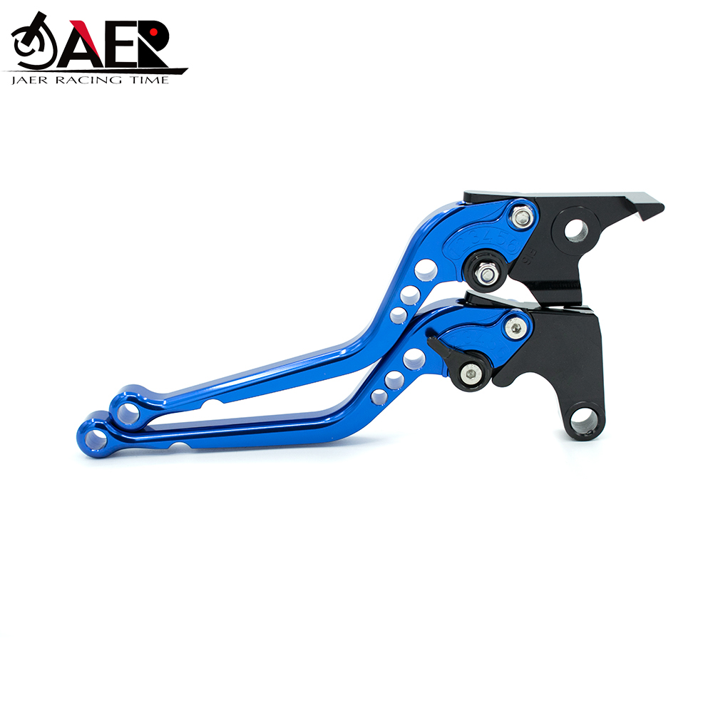 Image 2 - JEAR Long CNC Motorcycle Brake Clutch Levers for Husqvarna Svartpilen 401 2018-in Levers, Ropes & Cables from Automobiles & Motorcycles
