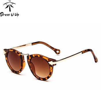 DRESSUUP Baby Boys Girls Kids Sunglasses Vintage Round Sun Glasses Children Arrow Glass 100%UV Protection Oculos De Sol Gafas