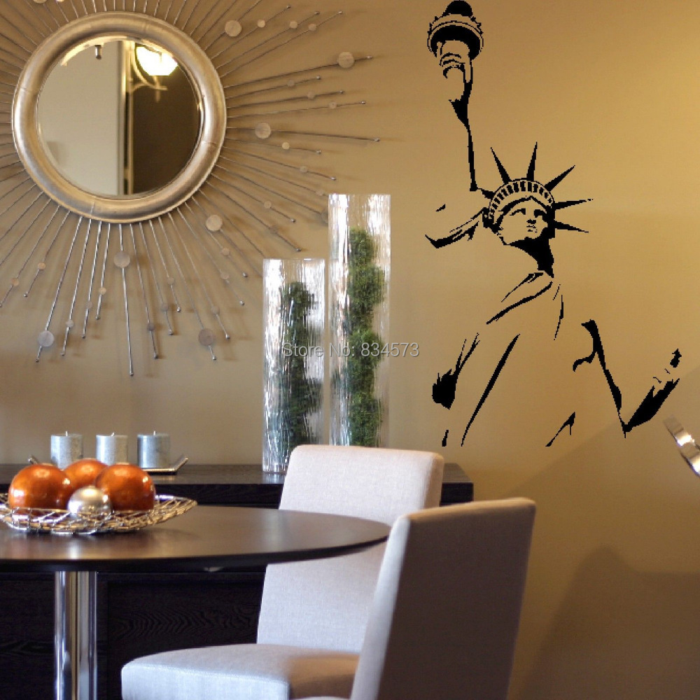 Aliexpress.com: Koop Vrijheidsbeeld New York Amerika Wall Art ...