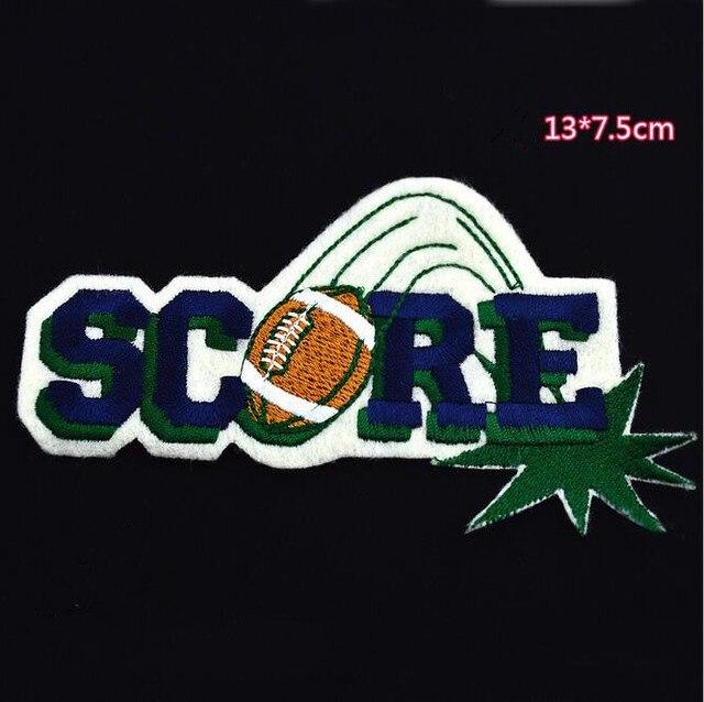 1 St Score Rugby Patch Kinderen Cowboy Diy Persoonlijkheid
