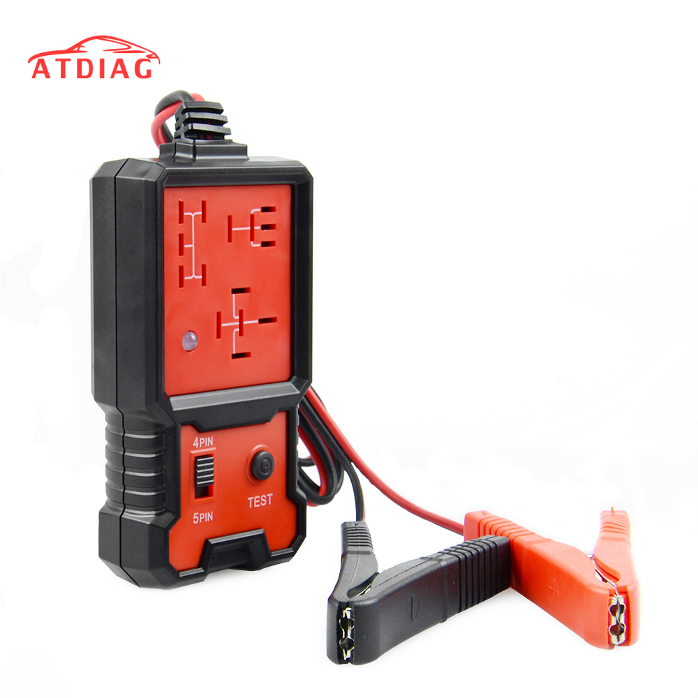Hot Selling 12V Cars Relay Tester Relay Testing Tool Auto Battery Checker Accurate Diagnostic Tool Portable Automotive Parts