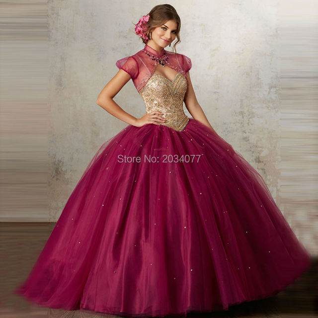 Vestidos de 15 Sweet Sixteen Dresses Rhinestones Two Piece ...
