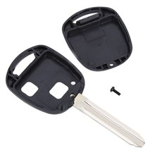 A16 Car Remote Key Holder Case Shell 2-button Protecting Cover Suitable for Toyota Protect Buttons From Excessive Wear