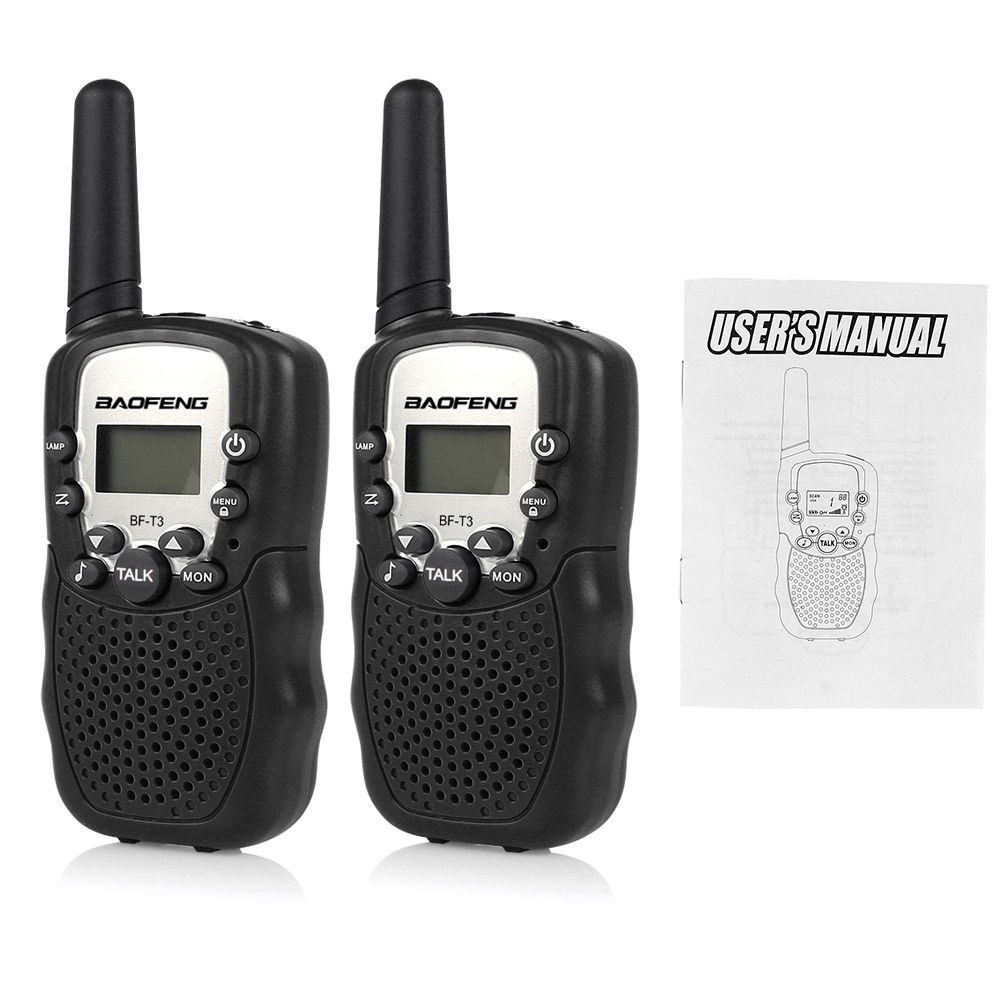 Image 5 - 1 Pair Mini Baofeng BF T3 Walkie Talkie Portable 8 Channel Children Two Way Radio 10 Call Tones Hf Transceiver Communicator T3-in Walkie Talkie from Cellphones & Telecommunications
