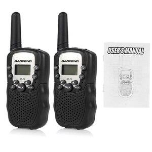 Image 5 - 1 Pair Mini Baofeng BF T3 Walkie Talkie Portatile 8 Canali Per Bambini A due Vie Radio 10 Toni di Chiamata Hf Ricetrasmettitore communicator T3