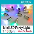 10 pçs/lote Congelado Bateria Operado LED Mini Party Light Para O Casamento Decorações Do Partido do Dia Das Bruxas Natal Decoração