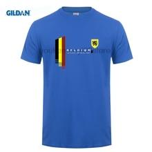 587893fae custom printed cotton O neck T-shirt Belgium National Drinking Team Belgian  Beer Pride T