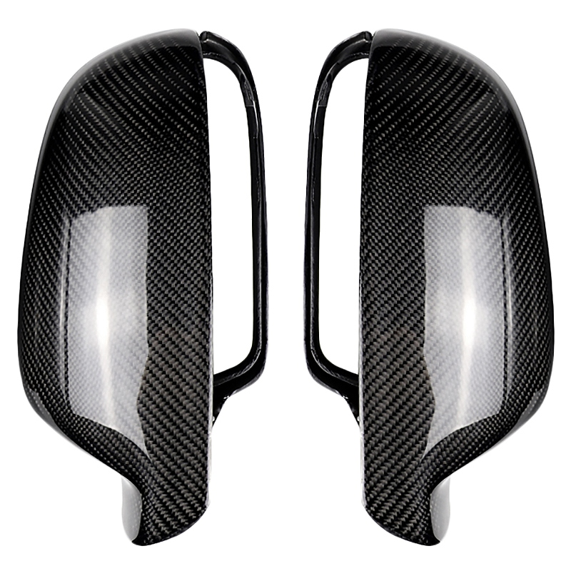 For Audi A4 B8.5 2012-2015 A5 B8.5 2013-2016 Carbon Fiber Side Wing Mirror Covers Caps Replacement DecorationFor Audi A4 B8.5 2012-2015 A5 B8.5 2013-2016 Carbon Fiber Side Wing Mirror Covers Caps Replacement Decoration