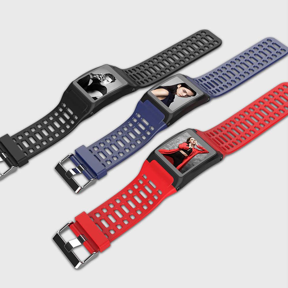 7acde8f6c1a5 ... ALANGDUO Z01 Smart Watch Color Screen Smart Wristwatch Big Dials Heart  Rate Monitor Micro sensor Waterproof