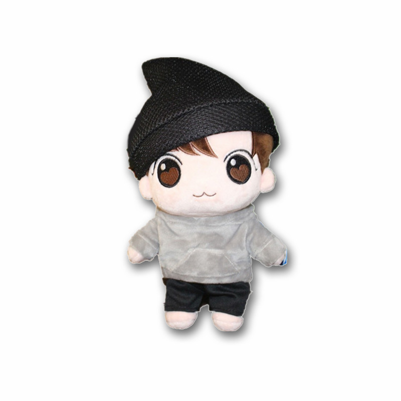 KPOP BTS Idol Bangtan Boys Jeon JungKook Characters Plush Toy Fans-made Stuffed Doll Craft Gift Collection цена в Москве и Питере