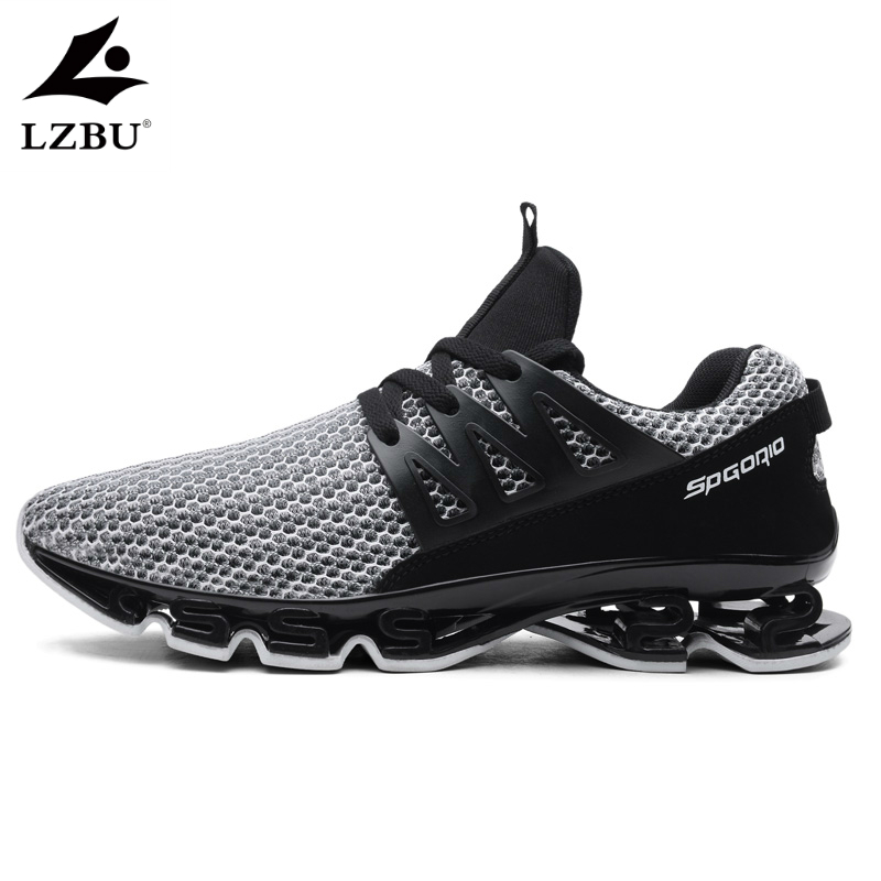 2019 New Damping Men Shoes Large Size 39-48 Casual Fashion Trending Mens Sneakers Summer Lace Up Comfortable Mesh Man Shoes T113 tênis masculino lançamento 2019