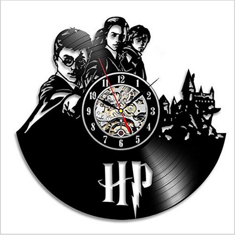 Harry Potter Wall Clock Modern Design Classic Cd Clocks