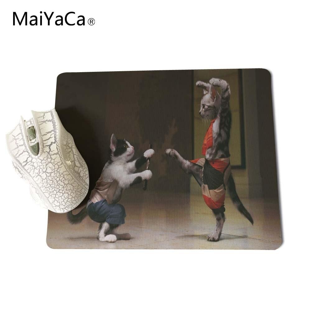 MaiYaCa Animales divertidos Gatos Nuevo tamaño Alfombrilla para - Periféricos de la computadora - foto 4