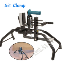 6 80mm Thickness Sit Clamp Handheld Wood Clamp Plate Fixture Woodworking Tools Floor clamp Equipment
