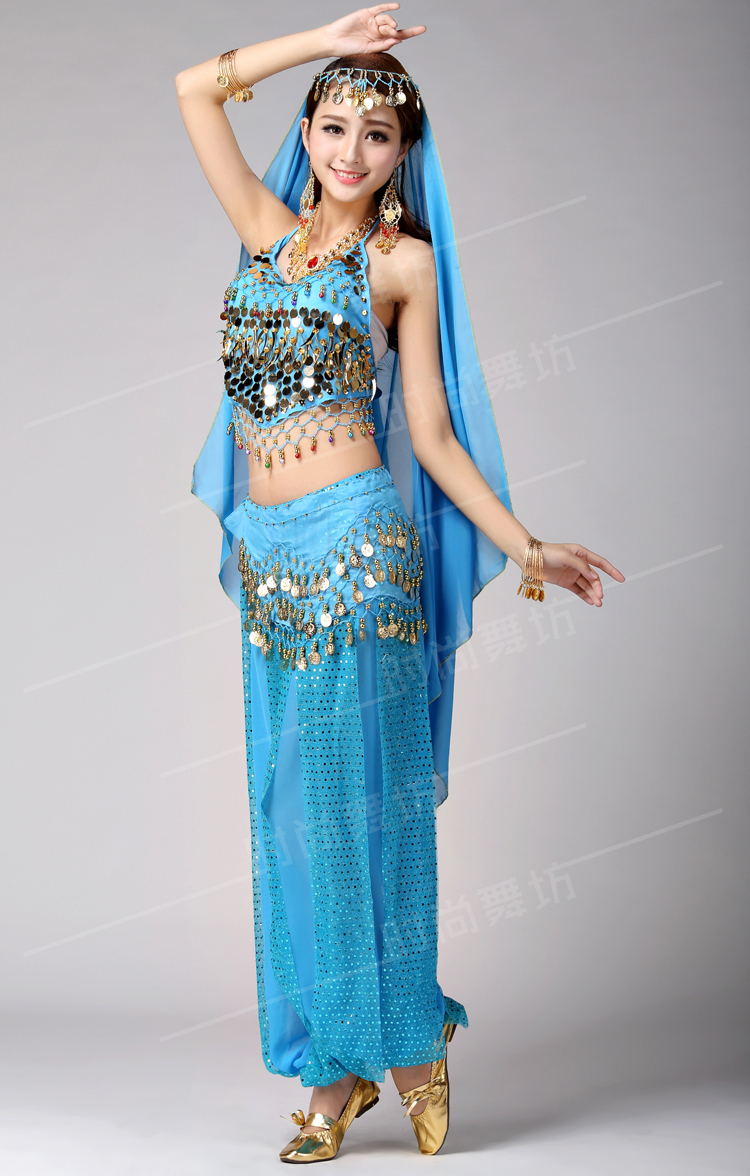 ... gypsy costume new 2016 belly suit chiffon scarf top belt pants diy small pepper top sequins coin women 3 diy last minute ...  sc 1 st  archivosweb.com & Diy Gypsy Costume - Home Design