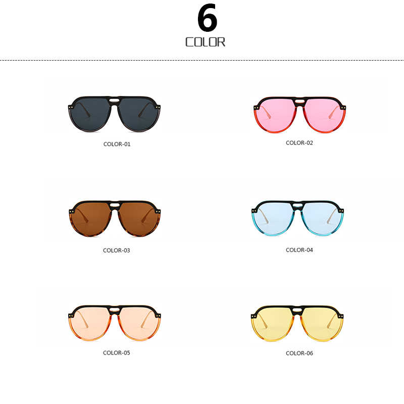 07a719dcc8bed ... RSSELDN Brand Design Sunglasses Men Women Summer Fashion Black Red Pink  Vintag Oval Sun glasses For ...