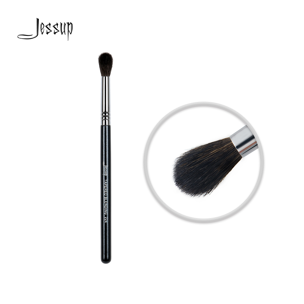Jessup Beauty Eyeshadow Makeup Brush Small Tapered Synthetic Hair Blending Contour 224