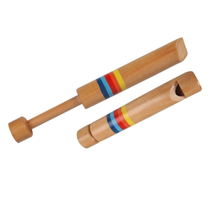 1 Pcs Kinder Holz Pfeife Musical Instrument Pädagogisches Spielzeug Für Kinder An88
