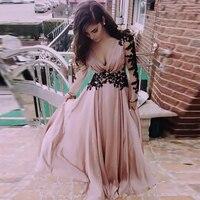 2018 Summer Deep V Neck Women Dress Vestidos Sexy Bridesmaid Lace Patchwork Long Maxi Dress Backless