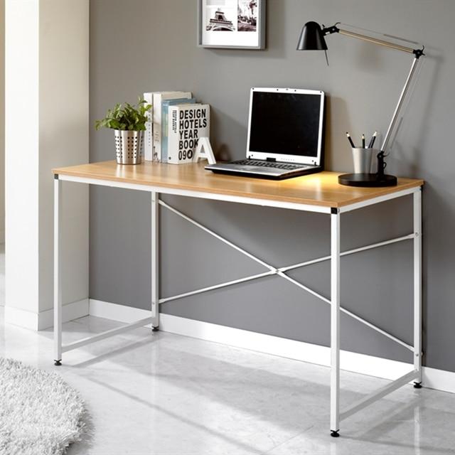 Meja Komputer Ikea Modern A Minimalis Kantor Dengan Rak Buku Sederhana Komposisi Rumah