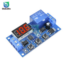 цена на 12V Delay Relay 3 Button 3 Digit Digital Tube LED Digital Time Delay Relay Trigger Cycle Timer Delay Switch Timing Control