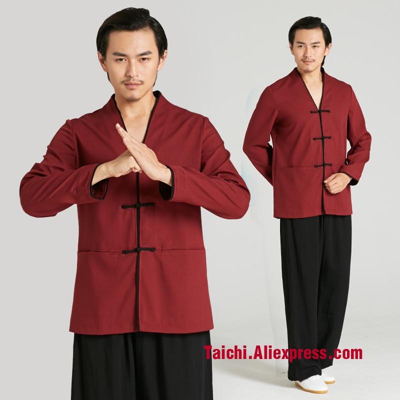 Martial Art Tai Chi  Uniform Taiji   Wudang Men 's New Chinese Clothing