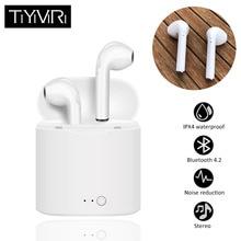 TiYiViRi Mini Wireless Bluetooth Earphone Headphones Sport Earbuds Headsets With Charging Box For iphone Xiaomi Huawei