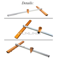 Glass Cutter Glass Push Knife T type Bold Heavy Thick Glass High Precision Roller Type Drag Knife Cutting Tile Cutting Machine