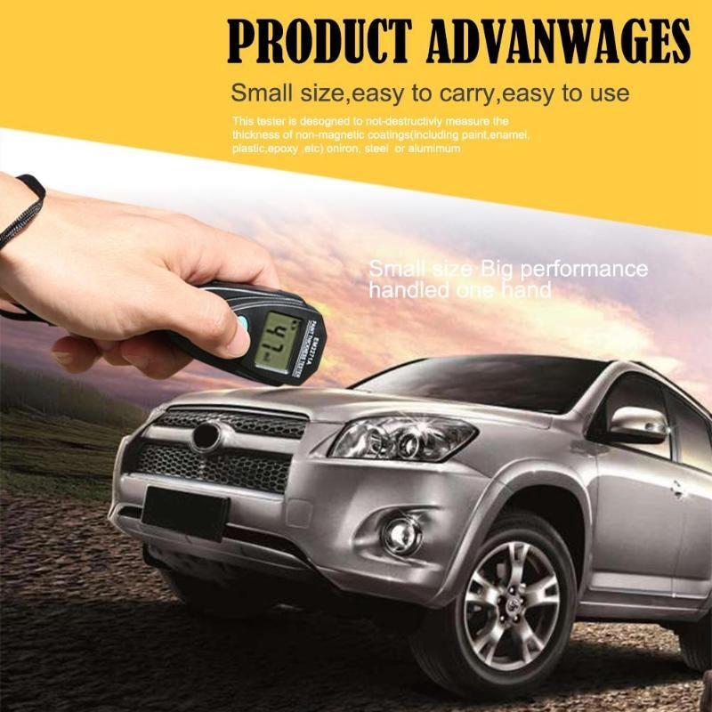 Gtbl Em2271a Dijital Araba Boyama Kaplama Kalınlığı Test ölçer W