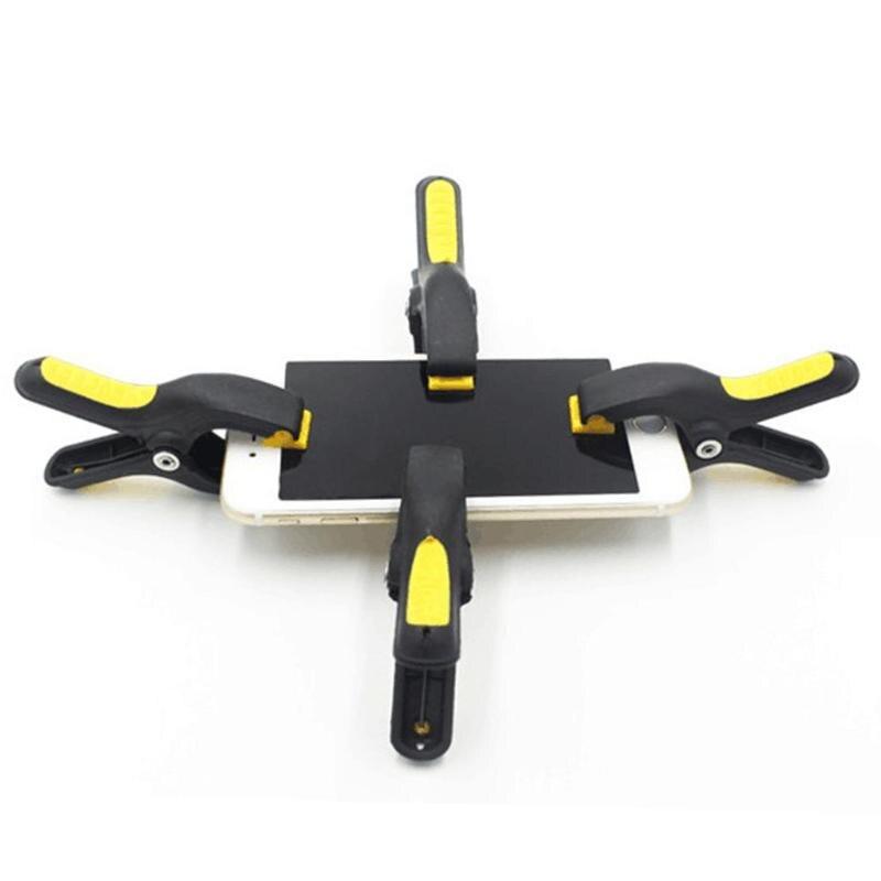 Befestigung Clamp 3 Zoll Kunststoff Clip Leuchte Für Handy Tablet Geklebt Lcd Bildschirm Reparatur Werkzeuge Nicht-slip Einstellbare Enden Fest In Der Struktur Werkzeuge